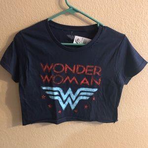 Tops - Wonder Woman Crop Top
